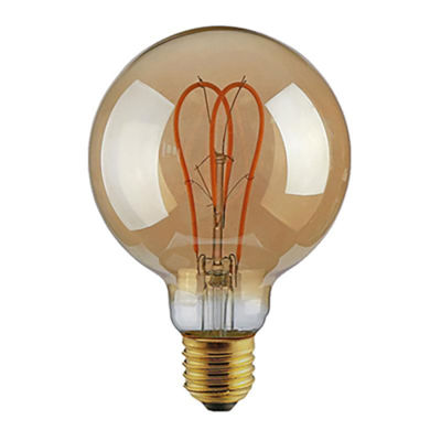"Eurolamp 147-81807 G125 Filament ""Decor"" Dimmable Λάμπα LED 5W"